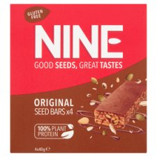Nine Original Seeds Bars 4X40g