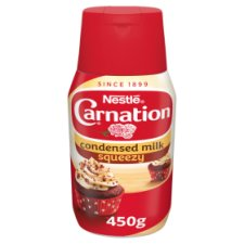 Carnation Sweetened Condensed Milk Squeezy Bottle 450G