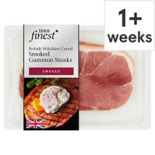 Tesco Finest Smoked Wiltshire Cured Gammon Steaks 2 Pack 460G