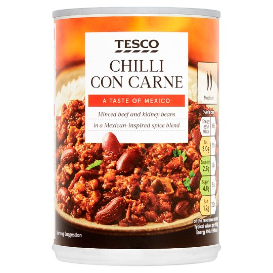 Tesco Chilli Con Carne 400G