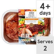 Tesco Piri Piri Chicken Breast Fillets 365G