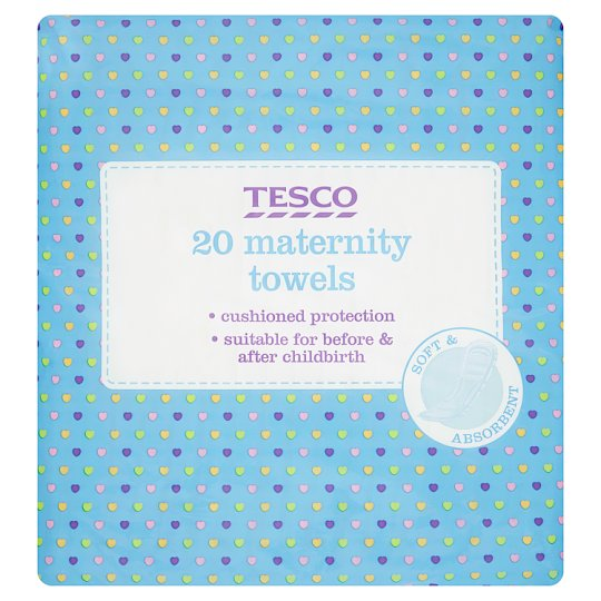 Tesco Maternity Towels X20
