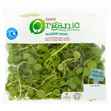 Tesco Organic Watercress