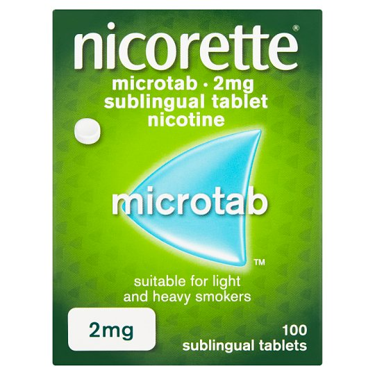 Nicorette Microtab 2Mg 100 Pack