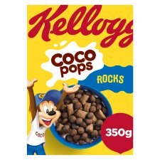 Kelloggs Coco Pops Rocks Cereal 350G