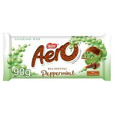 Aero Delightful Peppermint Chocolate Sharing Bar 90G