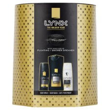 image 1 of Lynx Gold Trio With Floating Speaker Gift Set