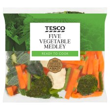 image 1 of Tesco Five Vegetable Medley 460G
