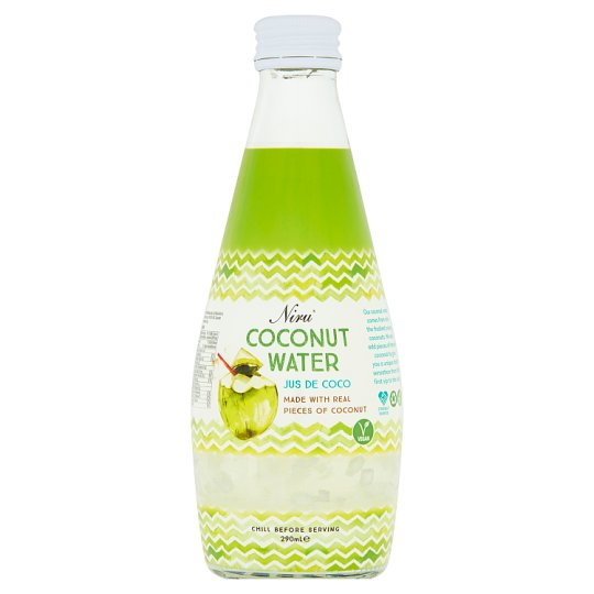 Niru Coconut Water With Real Pieces Of Coconut 290Ml