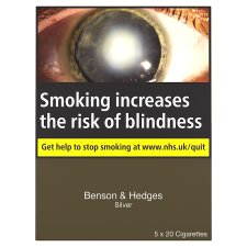 Benson And Hedges Silver King Size 100 Pack