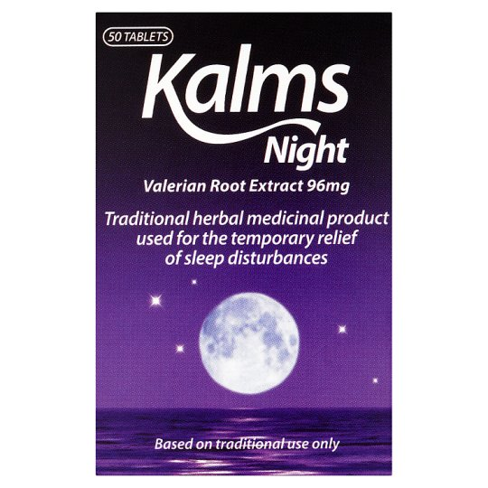 Kalms Night Tabs 50S