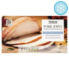 Tesco Pork Joint With Stuffing Balls 600G