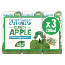 The Very Hungry Caterpillar Apple Juice 3X200ml
