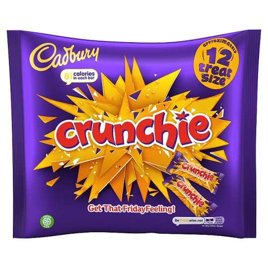 image 1 of Cadbury Crunchie Treat Size 210G