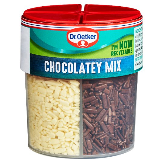 Dr Oetker Chocolatey Mix 4 Cell 74G