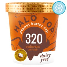 Halo Top Peanut Butter Cup Dairy Free Ice Cream 473Ml