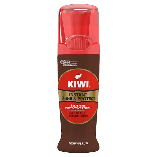 Kiwi Shine And Protect Brown 75Ml