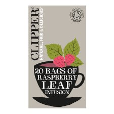 Clipper Organic Raspberry Leaf 20 Tea Bags 50G
