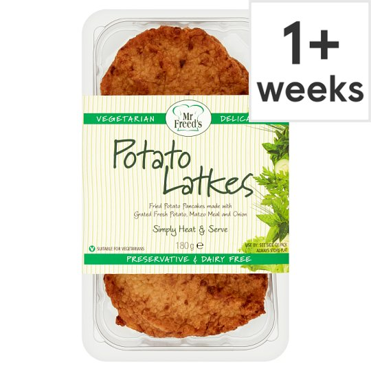 Mr Freeds Kosher Potato Latkes 180G