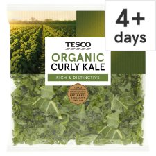image 1 of Tesco Organic Curly Kale 200G