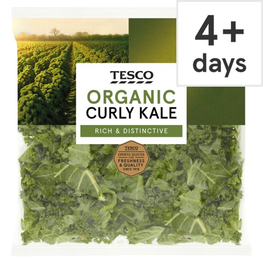 Tesco Organic Curly Kale 200G