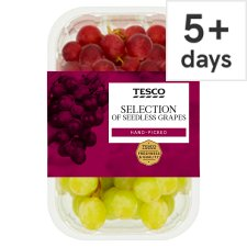 image 1 of Tesco Seedless Grape Selection Pack 500G