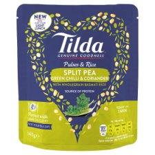 image 1 of Tilda Pulses And Rice Split Pea Chilli 140G