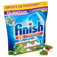 Finish Quantum Apple And Lime Blast 40S