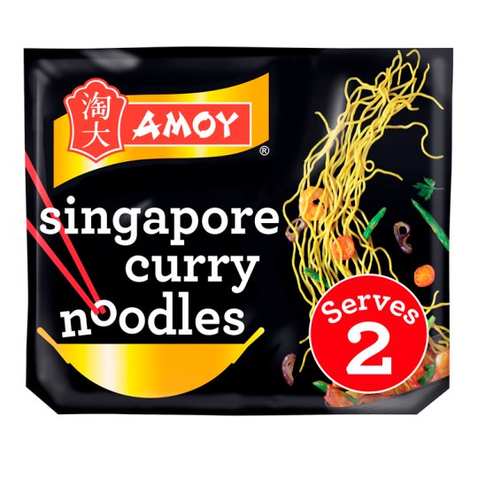 Amoy Straight To Wok Singapore Noodles 2X150g