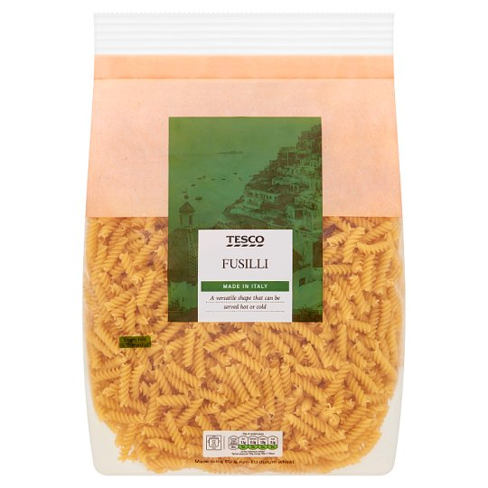 Tesco Fusilli Pasta Twists 3Kg
