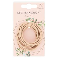 Leo Bancroft Snagfree Bands Blonde 15 Pack