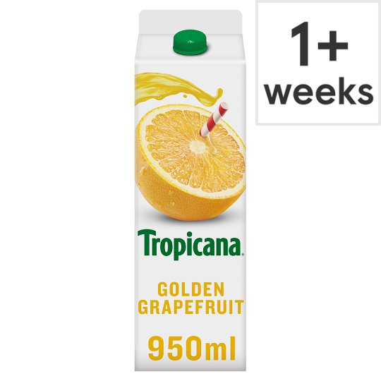 Tropicana Golden Grapefruit Juice 950 Ml
