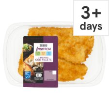 Tesco Free From 2 Breaded Cod 300G