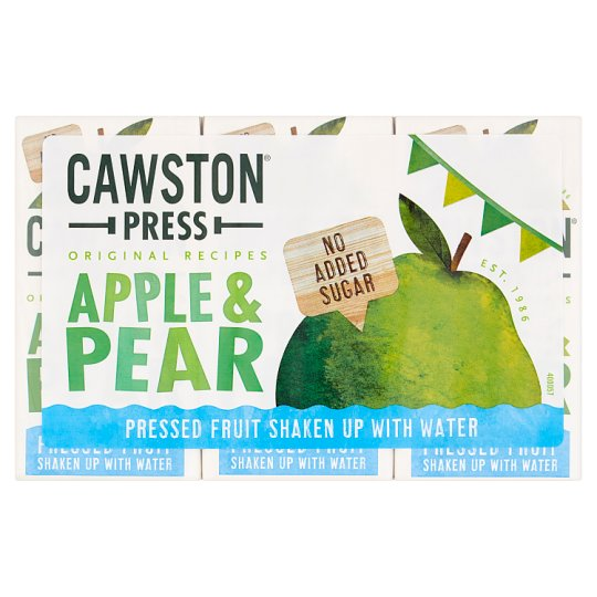 Cawston Press Apple And Pear 3X200ml