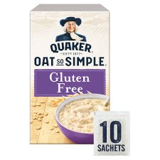 Quaker Oat So Simple Gluten Free Original Porridge 10 Pack 350G