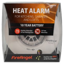 Fire Angel 10 Year Life Heat Alarm