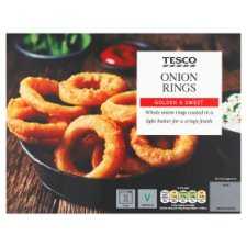 Tesco Onion Rings 300G