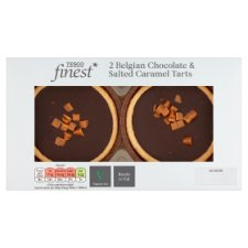 Tesco Finest Salted Caramel Tarts 2 Pack