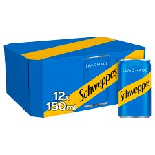 Schweppes Lemonade 12X150ml
