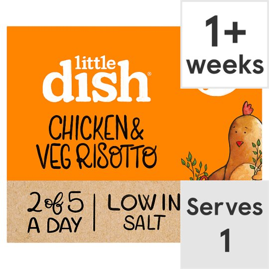 Little Dish 1Yr+ Chicken And Vegetable Risotto 200G