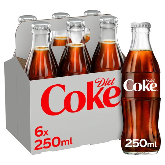 image 1 of Diet Coke Pack 6X250ml