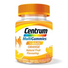 Centrum Multigummies Orange 30'S