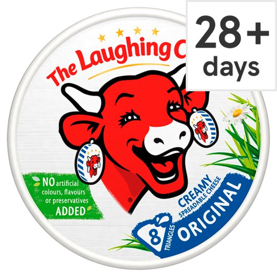 The Laughing Cow Original Cheese Triangles 140 G