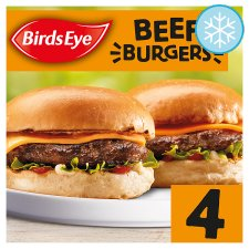 Birds Eye 4 Original Beef Burgers 227G