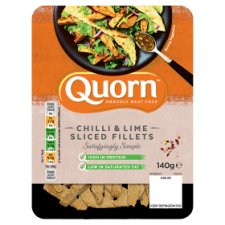 Quorn Meat Free Fillets Chilli And Lime 140G