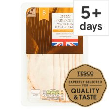 Tesco Wafer Thin Roast Chicken Slices 125 G