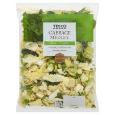 Tesco Cabbage Medley 290G