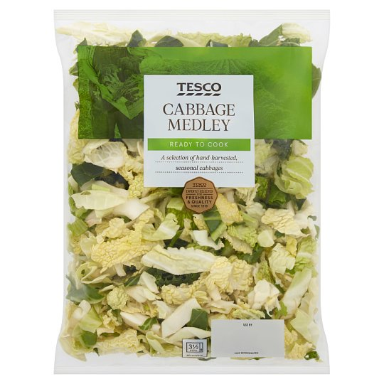 image 1 of Tesco Cabbage Medley 290G