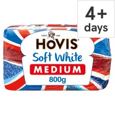 Hovis Soft White Medium Bread 800G