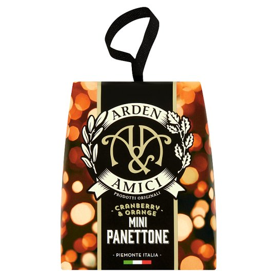 Arden And Amici Cranberry And Orange Panettone 100G